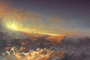 Heavenly bridge... by Matariil