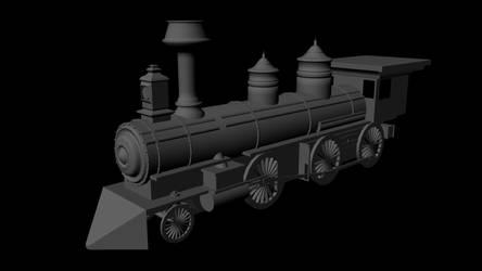Steam Engine Render 1 by Drew47AT