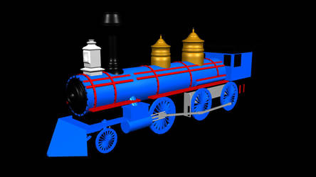 Steam Engine Color Render by Drew47AT