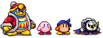 Kirby pixels by cakeyrin