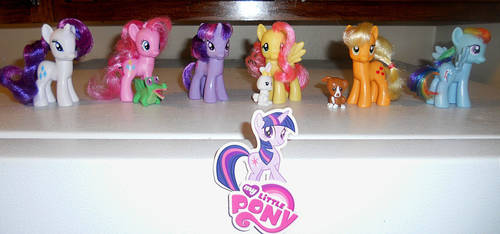Custom mane six figurines by spikeslashrarity