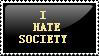 I hate society by OrganicSoup