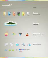 Iconpack 1 by ivelt