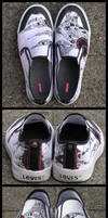 Art on a Shoe by ivelt