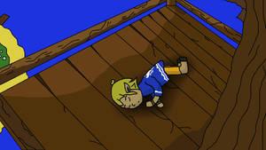 Link Sleeping  -  Upcoming Animation by Demonheadge