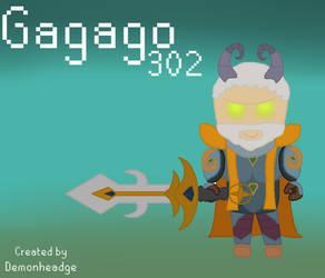 [Runescape] - Gagago302 by Demonheadge