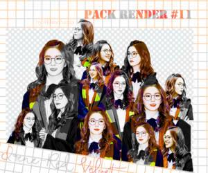 Pack render #11 Irene Red Velvet by Santa203