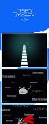 Adventure tri. - Choromon SHINKA Hackmon by NelaNequin