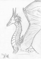 Dragon two by KuschelGarou