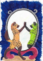 Magic Mirror by KuschelGarou