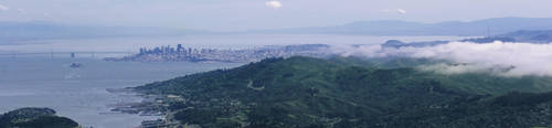 San Francisco Bay Area by KMourzenko