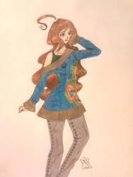 Older sister Emma by YukininaSuzu