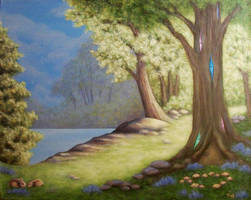 Magic's Tree House by katTink