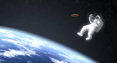 Astronaut by Morriperkele