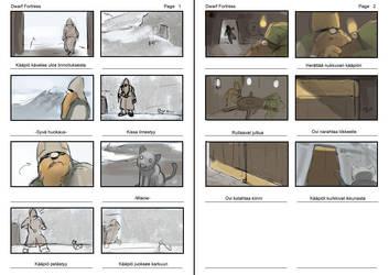 Catophobia storyboards by Morriperkele