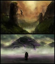 Journey to the Far Lands pt 3. by Morriperkele