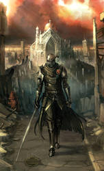 Post Knight by Morriperkele