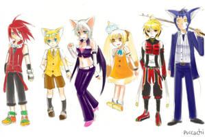 Sketch - Gijinka Sonic 2 by chobitsG
