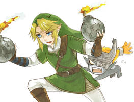 angry link by chobitsG
