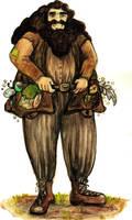 Hagrid by MademoiselleOrtie