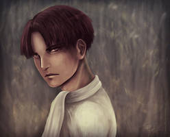 Levi sketch portrait by J-Melmoth