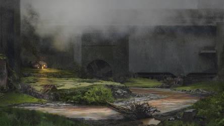 Ancient Concrete by mjtrickster