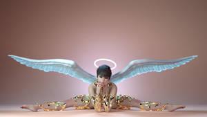 Rebeca Angel 2 by BestmanPi