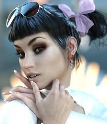 Rebeca Portrait 9 by BestmanPi