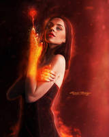 The Flame Of Love by Secr3tDesign