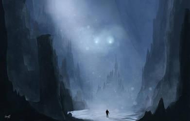 Snowy Night by Secr3tDesign
