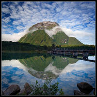 Reflection Peak by Basement127