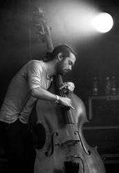 Bass player by Basement127