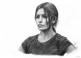Sameen Shaw (Person of Interest) by siniart