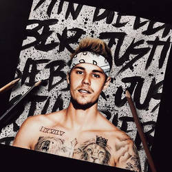 Justin Bieber drawing by BabiRamos