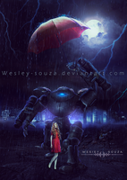 I will Protect you Sweet Girl by Wesley-Souza