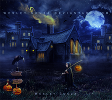 The Haunted House 2 by Wesley-Souza