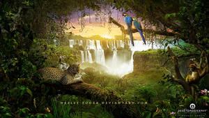 Amazonia - Desktopography Exhibition 2014 by Wesley-Souza