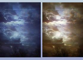 Beautiful Sky Stock by Wesley-Souza