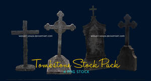 Tombstone Stock Pack by Wesley-Souza
