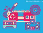 80s 8-Bit design by tjhiphop
