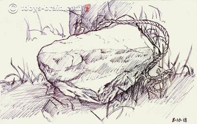 Camp Bell Moleskin Sketch #12 by tobys-brain