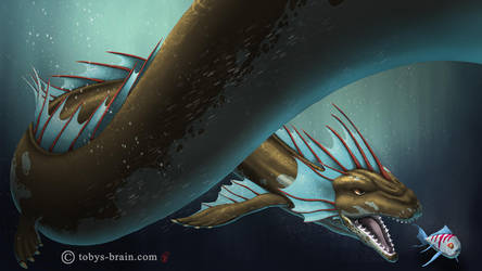 Lee's Dragons: Sea Dragon by tobys-brain