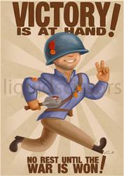 TF2 Propaganda - Soldier by liquidscissors