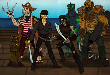 Lords of the Pirate Isles by Internet-Ninja