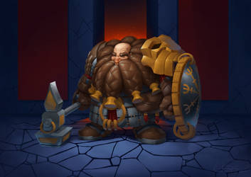 Dwarf by Arturbs
