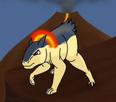 How I draw Typhlosion (request) - download by horse14t