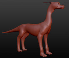 Sculptris - Forest Dragon by horse14t