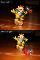 Defective Hammer Slam Bowser by horse14t