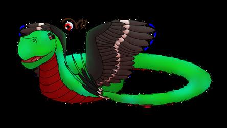 Feathered Dragons - Q'uq'umatz by horse14t