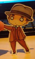 L.a. Noire: chibi Cole by SheriffGraham